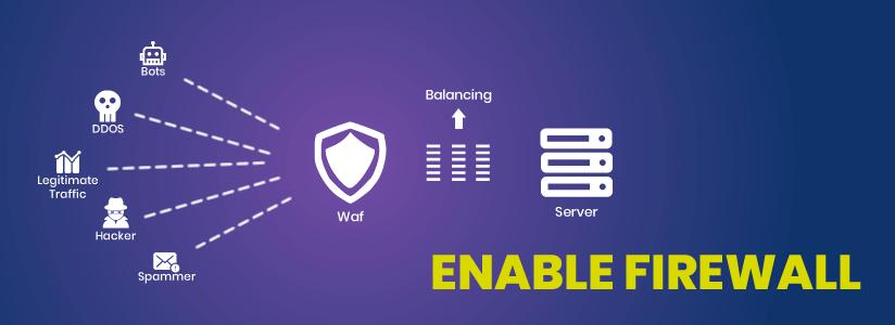 Enable a Web Application Firewall